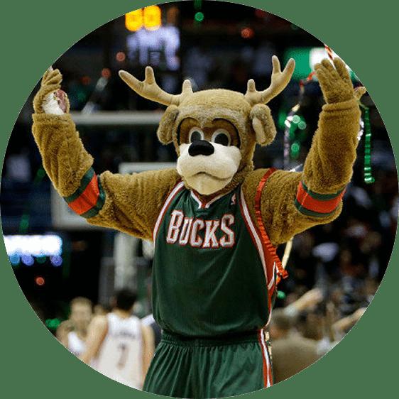 Sports In Wisconsin: Bango, Milwaukee Bucks' mascot