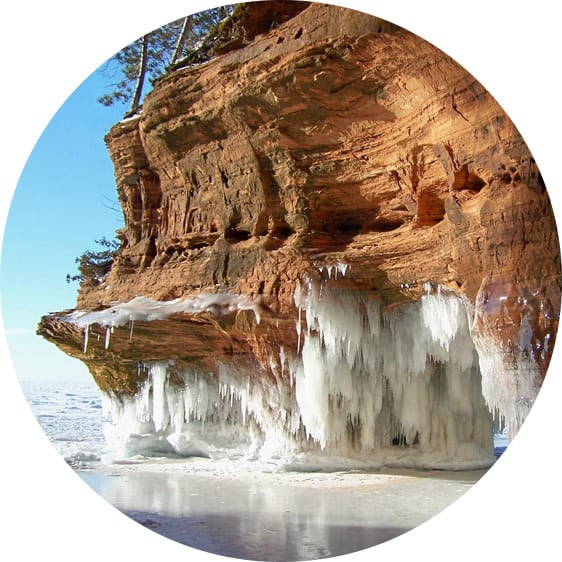 Winter In Wisconsin: Apostle Island ice caves