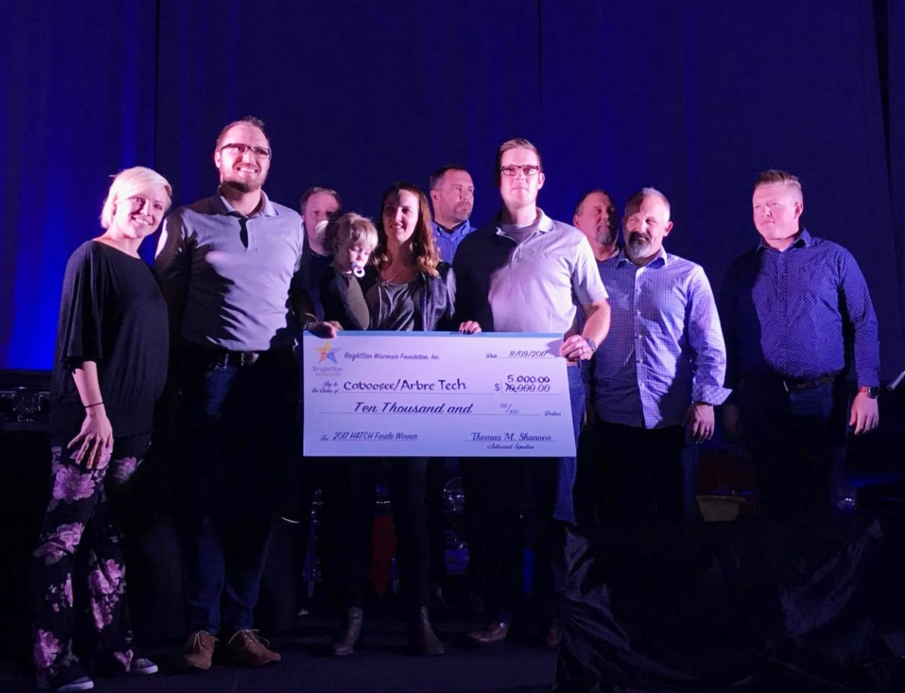 Arbré Tech and Caboosee tie for first place in HATCH startup competition