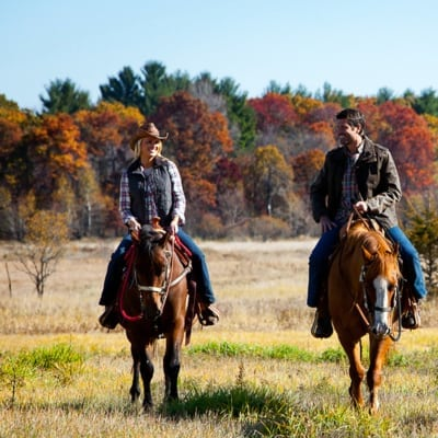 Horseback riding in Wisconsin - Slinger