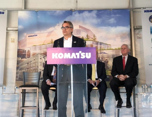 Komatsu Mining Corp. to build $285 million headquarters and manufacturing facility in Milwaukee
