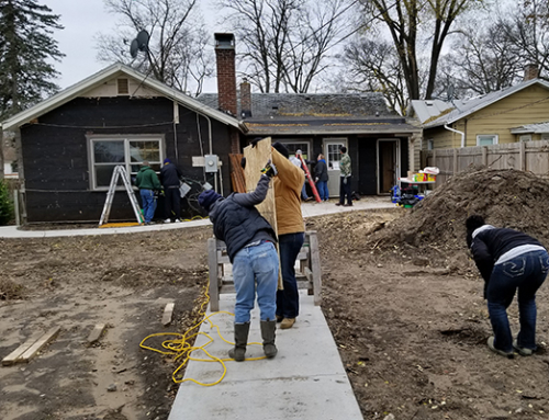 Habitat for Heroes allows transitioning veterans to connect with peers, larger Wisconsin community