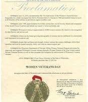 Woman's Veteran's Day