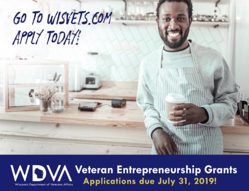 Veteran entrepreneurs encouraged, set up for success in Wisconsin