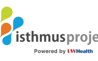 Logo for Isthmus Project, powered by UW Health